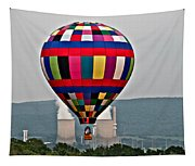 Ballooning Between The Stacks Tapestry