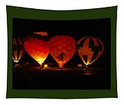 Balloons At Night Tapestry