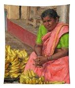Banana Seller Tapestry