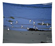 Band Of Seagulls Tapestry