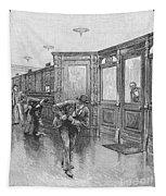 Bank Snatcher, 1890 Tapestry