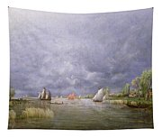 Banks Of The Loire In Spring Tapestry
