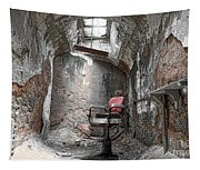 Barber - Chair - Eastern State Penitentiary Tapestry