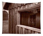 Barns Grand Tetons Tapestry