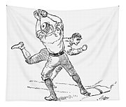 Baseball Players, 1889 Tapestry