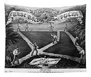 Baseball Polka, 1867 Tapestry