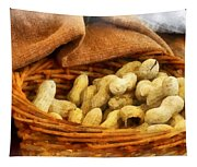 Basket Of Peanuts Tapestry