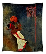 Basketball Player Tapestry
