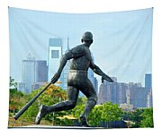 Batters City View Tapestry