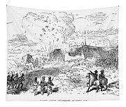 Battle Of Fort Erie, 1814 Tapestry