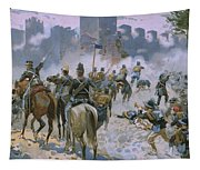 Battle Of Solferino And San Martino Tapestry