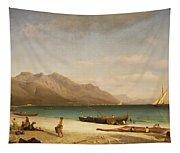 Bay Of Salerno Tapestry