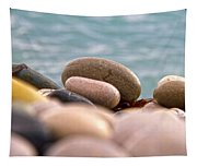 Beach And Stones Tapestry