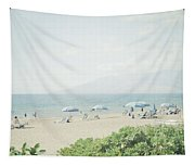 Beach At Wailea  Tapestry