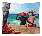 Beach Buddies Tapestry