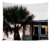 Beach Cottage Clothesline Tapestry