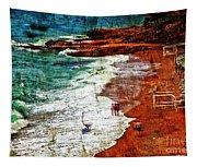 Beach Fantasy Tapestry