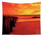 Beach Scene Tapestry