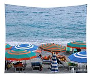 Beach Umbrellas 2 Tapestry