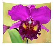 Beautiful Hot Pink Orchid Tapestry