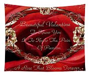 Beautiful Valentine Tapestry