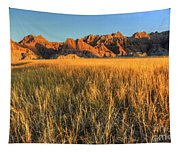 Beauty Of The Badlands Tapestry