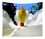 Bed Of Magnolia Tapestry
