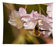 Bee Fly Feeding 1 Tapestry