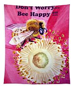 Bee Happy  Tapestry