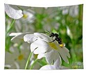 Bee On Primrose Tapestry