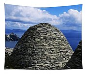 Beehive Huts At The Coast, Skellig Tapestry