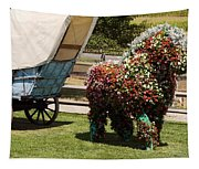 Begonia Horse Tapestry