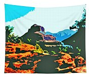 Bell Rock Sedona Arizona Tapestry