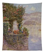 Bellagio From Tremezzo Tapestry