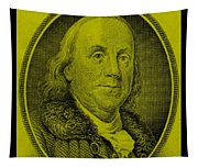 Ben Franklin In Yellow Tapestry