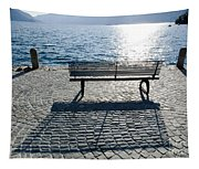 Bench With Shadow Tapestry