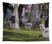 Benches Tapestry