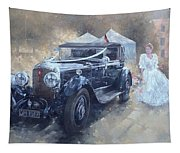 Bentley And Bride  Tapestry