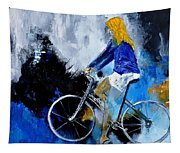Bicycle 77 Tapestry