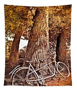 Bicycle Built For Two Tapestry