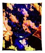 Big Blue Globe Thingee Tapestry