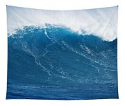 Big Blue Wave Tapestry
