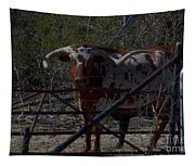 Big Bull Long Horn Tapestry