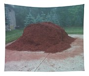 Big Pile Of Mulch Time Tapestry
