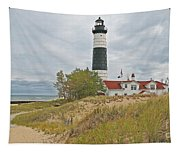 Big Sable Lighthouse Tapestry