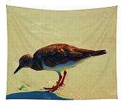 Bird On Daytona Beach Tapestry