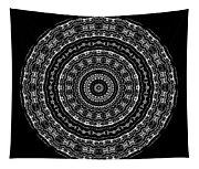 Black And White Mandala No. 3 Tapestry