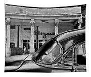Black Car Havana Tapestry