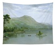 Black Mountain From The Harbor Islands - Lake George Tapestry