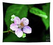Blackberry Bloom Tapestry